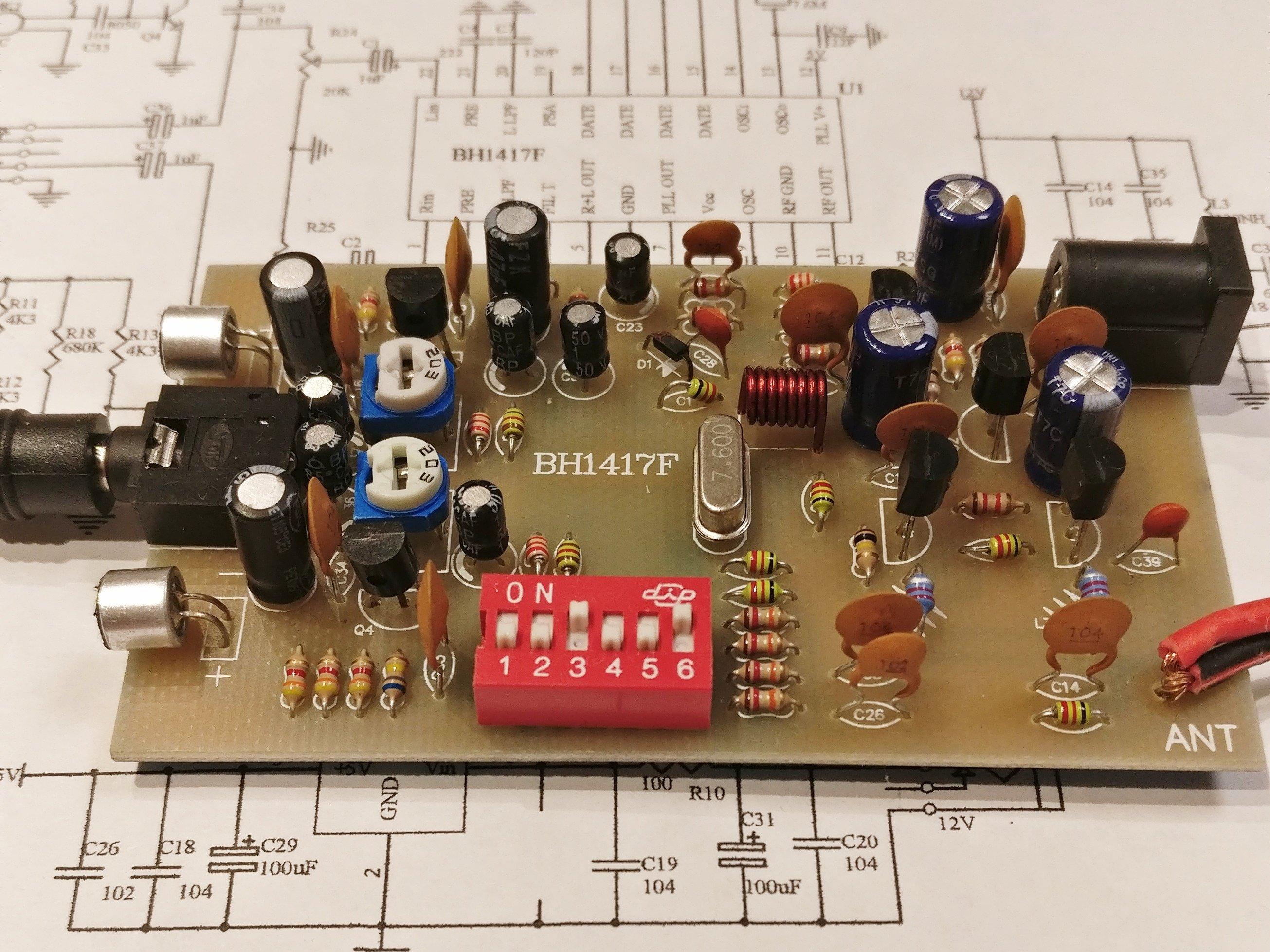 FM - модулятор на BH1417F