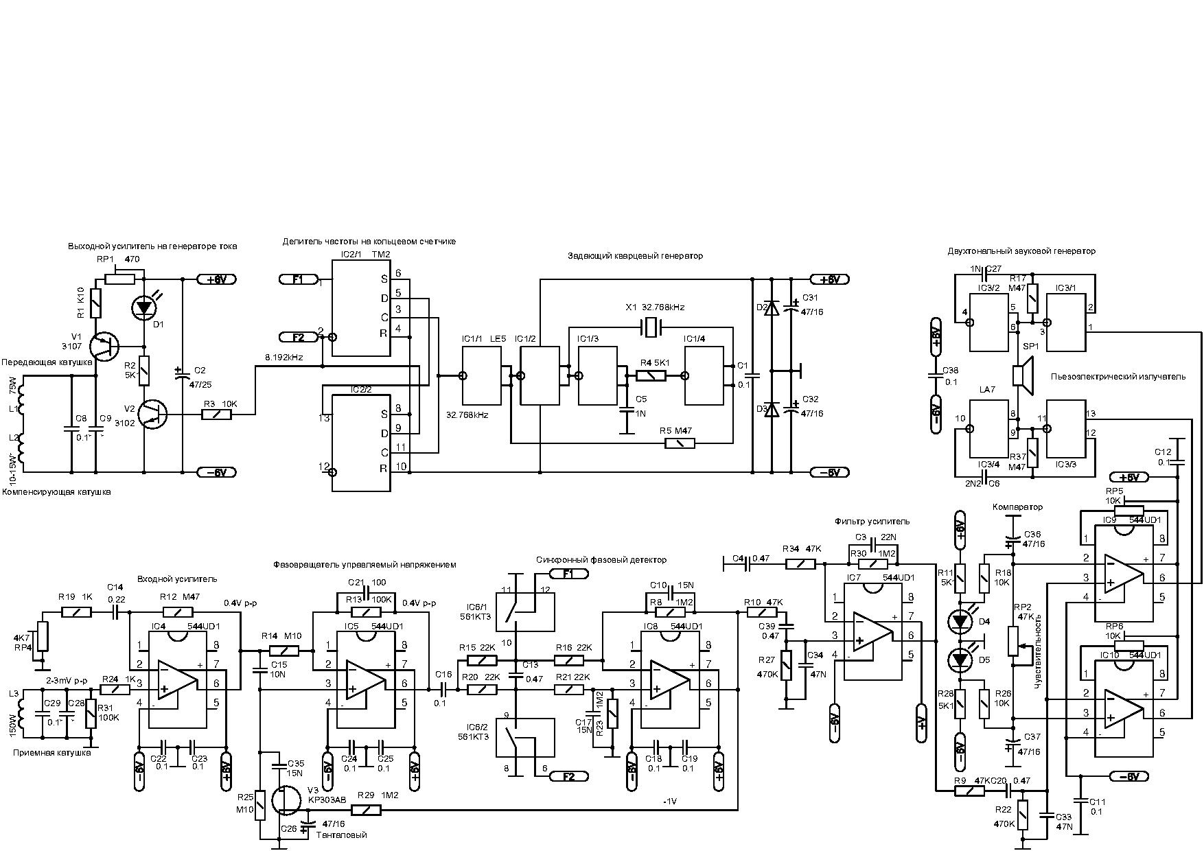 Металлоискатель Фазитрон-IB