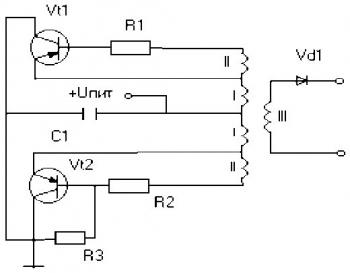 Зарядка аккумулятора автомобиля схема.