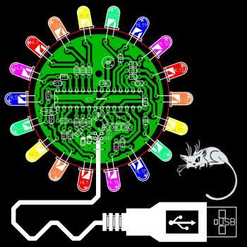 Usb Цветомузыка - опубликовано в Световые эффекты и LED: Имеется гирлянда на 220вольт 4 цветная.нужно сделать из...