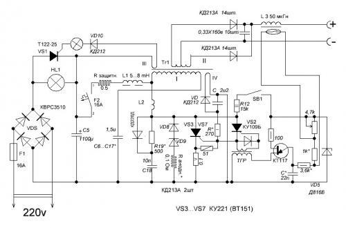 Схемы инверторных сварочных аппаратов своими руками