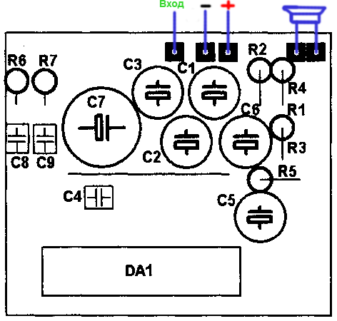 tda2005 усилитель - Микросхемы.