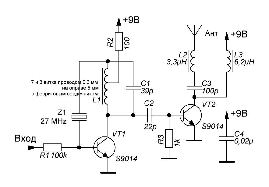 схема работы радиоуправляемой машинки отличается