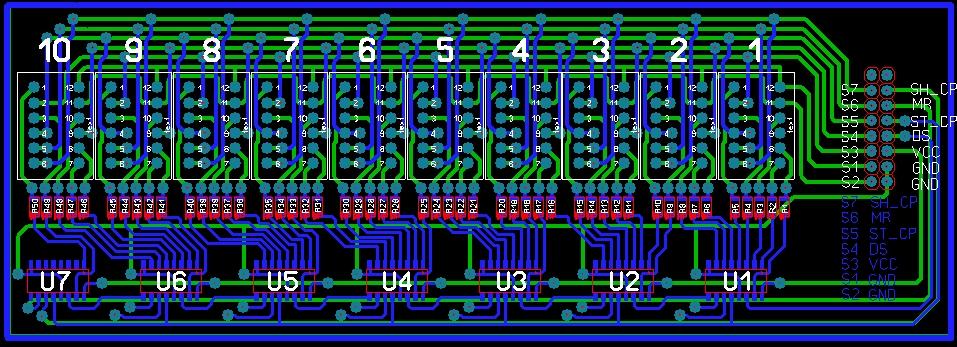 Arduino светодиодная матрица своими руками