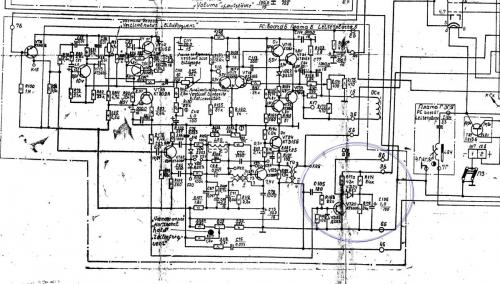 телевизор электроника схема