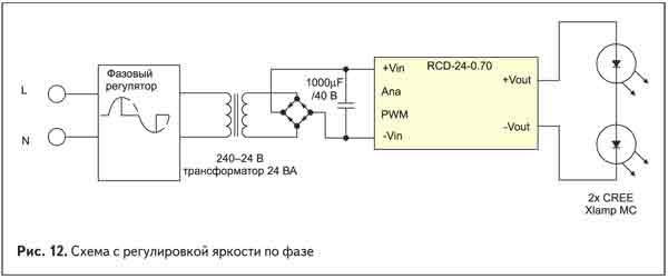 термобелье: схема регулятора яркости для мощного светодиода термобелье синтетическое