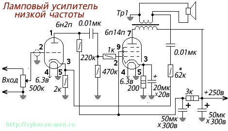 6П3С-Лампа