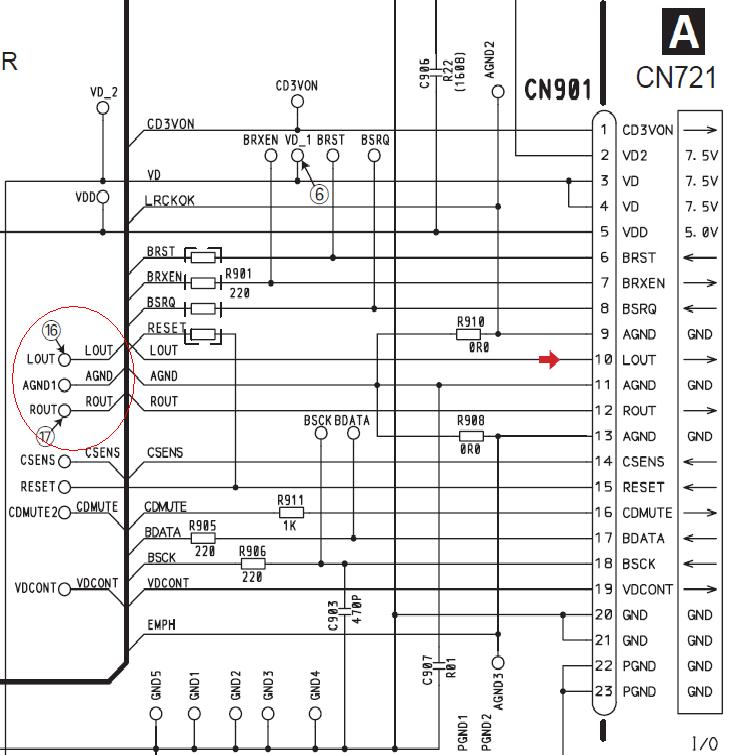 Pioneer deh-p5850mph схема