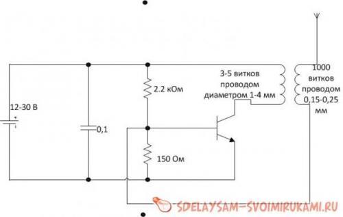 Трансформатор тесла на транзисторах катушки тесла и все
