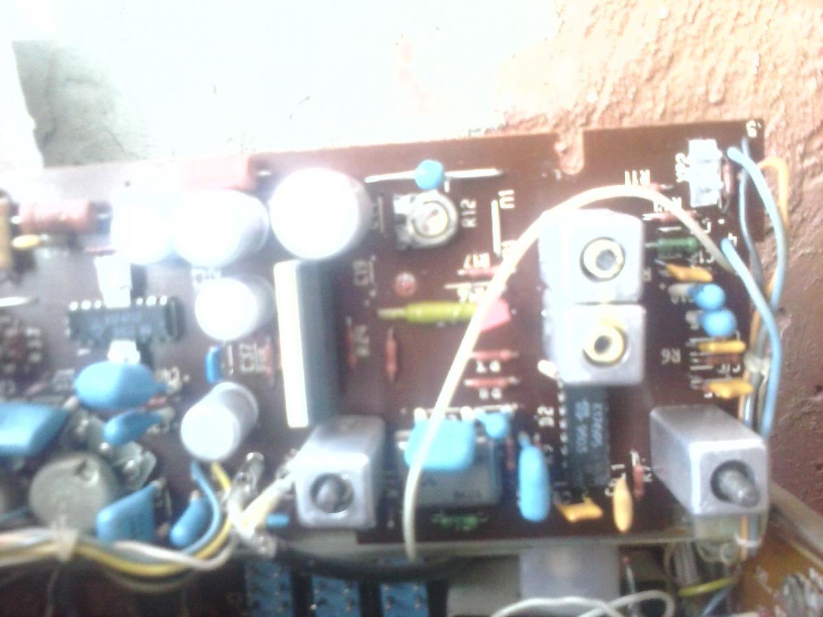 Принципиальная электрическая схема телевизора.