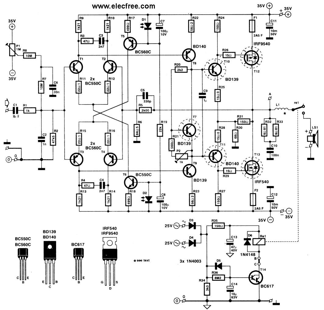 схема на irf540