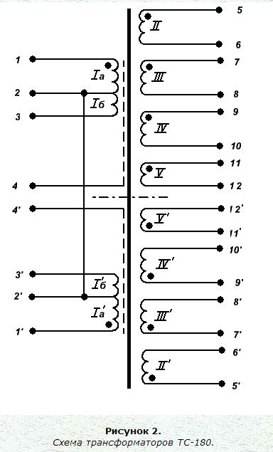Схема двухполупериодного выпрямителя трехфазная4