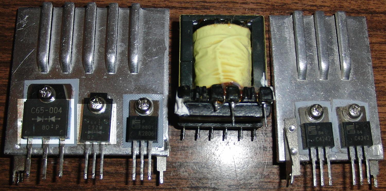 схема блока питания на шим 7502
