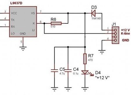 Как сделать k-line адаптера