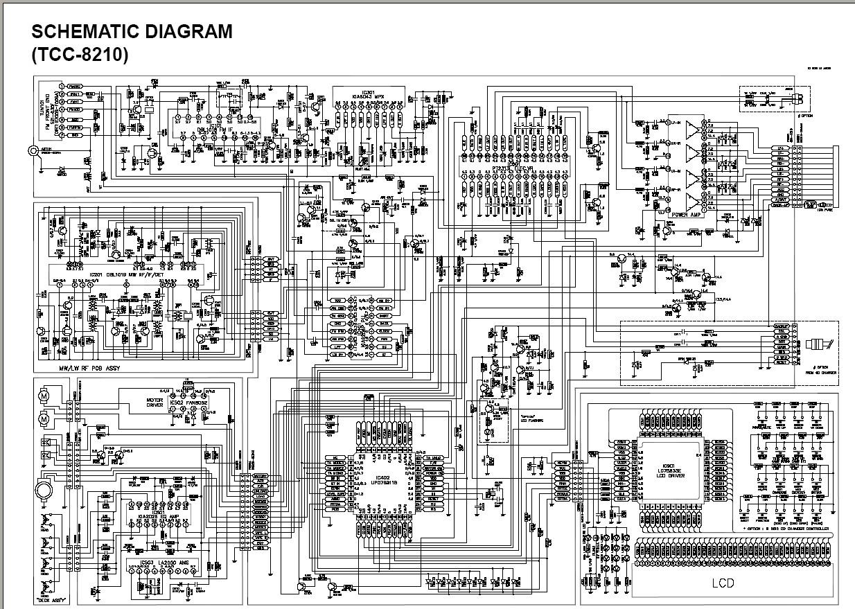 lg tcc-5630 разъем подключения проводов схема