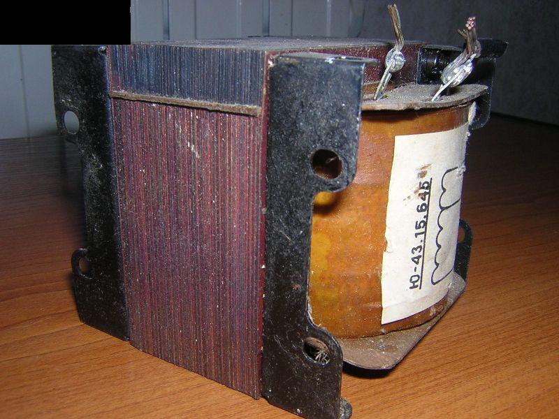 Как сделать дроссель из трансформатора