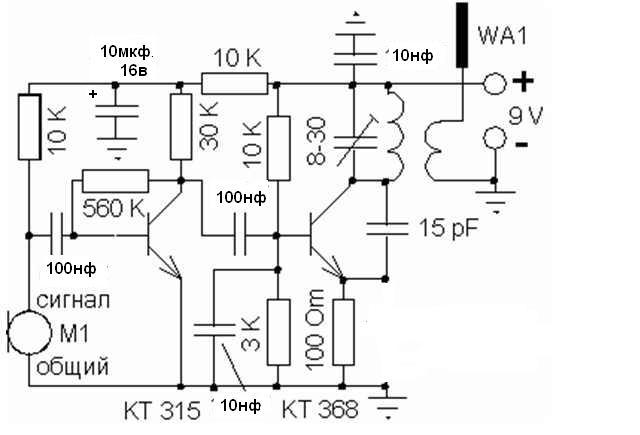 Радиоэлектронные схемы для дома