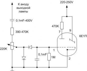 Технический форум - Показать сообщение отдельно - Первый мой ламповый УНЧ на 6Н2П и 6П14П.