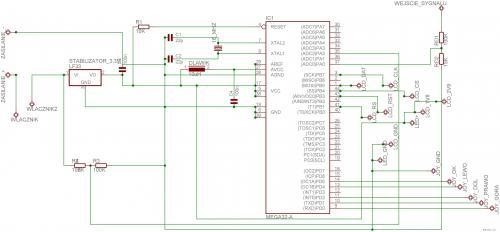 radiolyubitelskie Осциллограф 2.0 на AVR (Atmega 16AU).