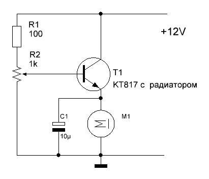 Резистор на кулер схемы