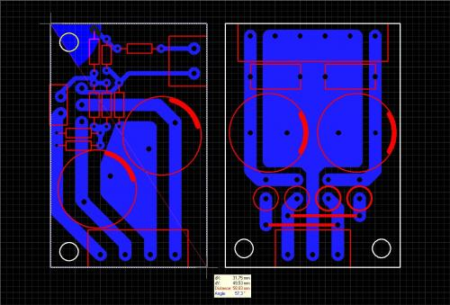 ...в Усилители мощности на микросхемах TDA2030/TDA2050/LM1875: Тогда делай заново.Перерисуй схему из даташита в...