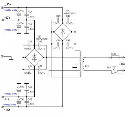 Lm3886 схема микросхемы