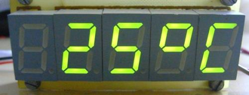 Термометр На Attiny2313 - опубликовано в AVR: Собрал схему термометра на светодиодных индикаторах (рис. 1). Прошил...
