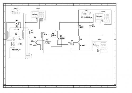 Исследование схемы генератора