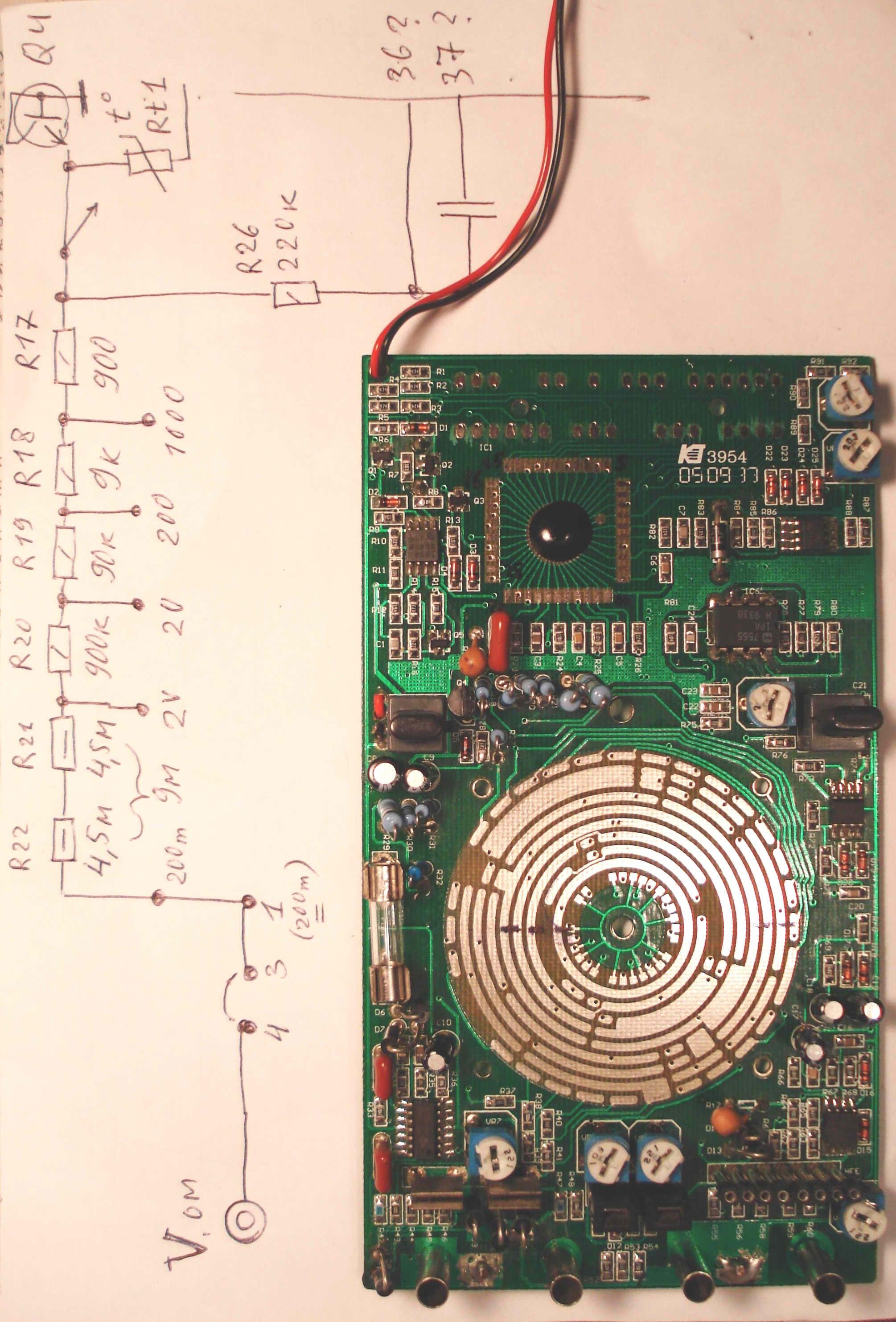 M890g схема расположения контактов