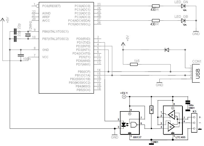 Usb-dmx контроллер своими руками 48