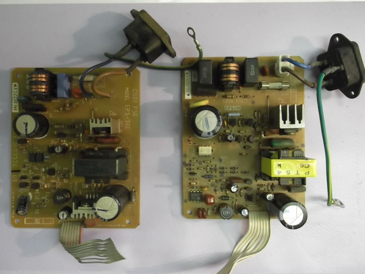 Электрические схемы на принтер epson