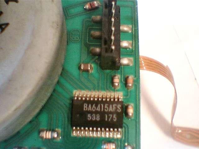 Драйвер двигателя на видеомагнитофон