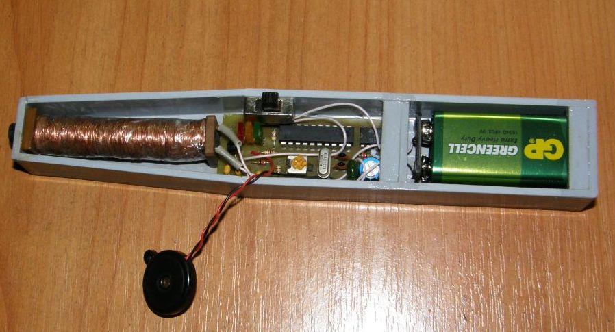 Металлоискатель малыш fm2 схема