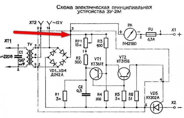 схема зарядное устройство для автомобильного аккумулятора на atmega8