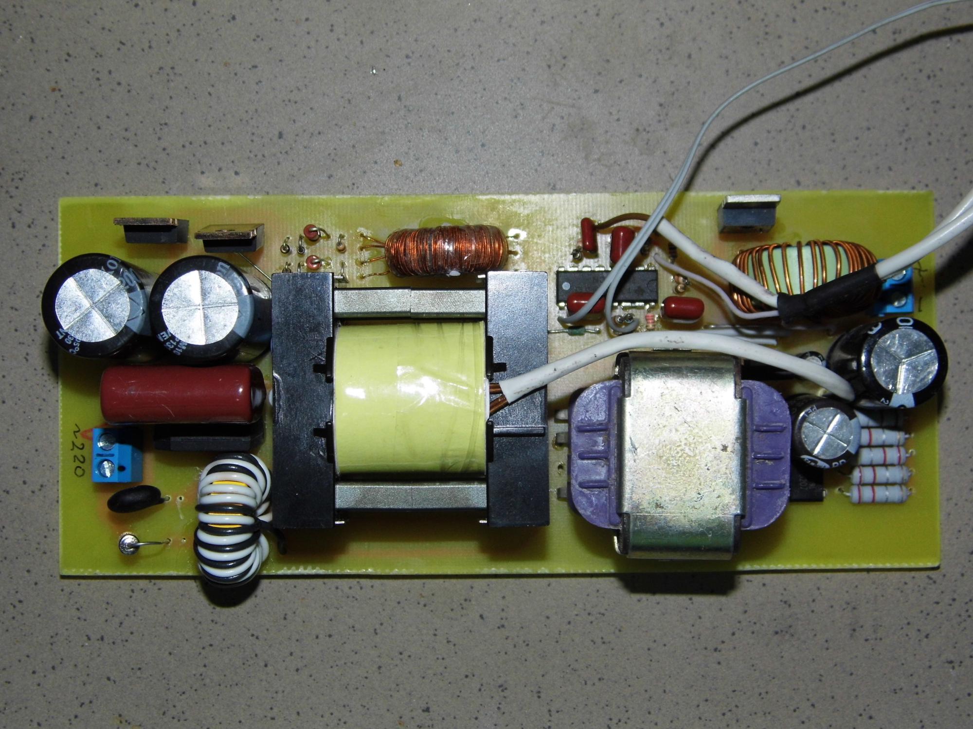 Как выбрать трансформатор для импульсного блока питания
