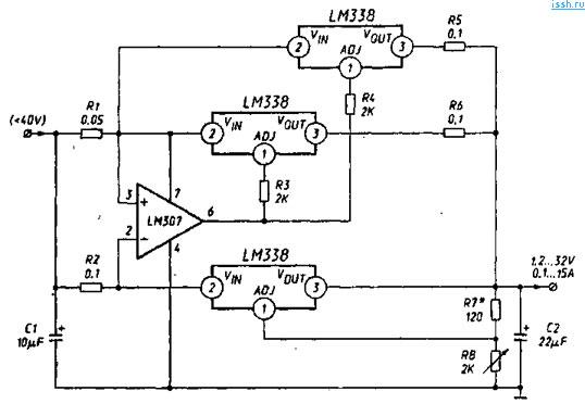 Lm n схема включения как работает