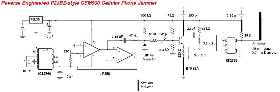 Усилитель сигнала сотового телефона схема