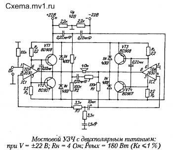 печатная плата для усилителя на базе tda2003 - Микросхемы.