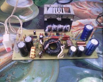 Микросхема TDA 1562Q в авто усилитель US Blaster 3250 (на.