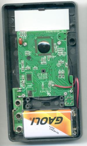 DT830B - снята задняя