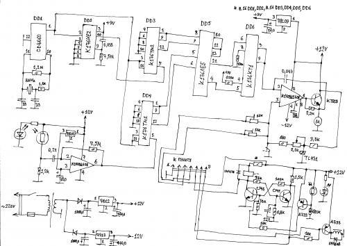 Регулятор частоты вращения для ЭПУ Unitra G-602 - опубликовано в Источники звука: История схемы:Собирал снова...