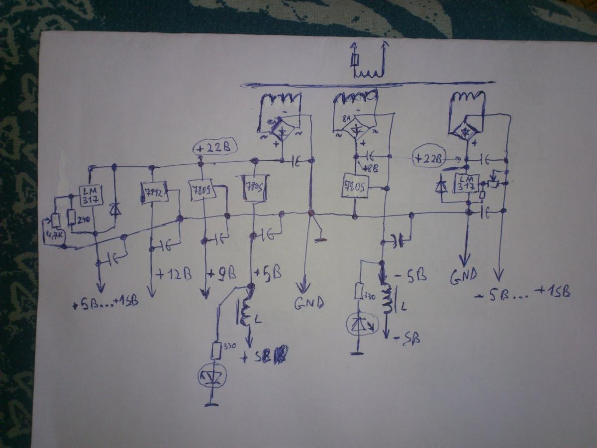 78l09 схема включения цоколевка