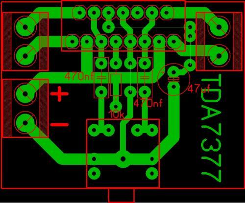 Tda7377 усилитель