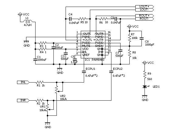 Lm4863 схема усилителя