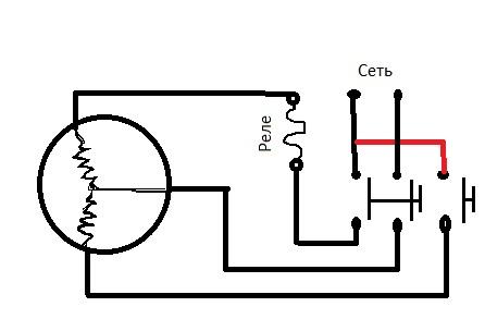 Схема подключения электродвигателя даоц ухл4