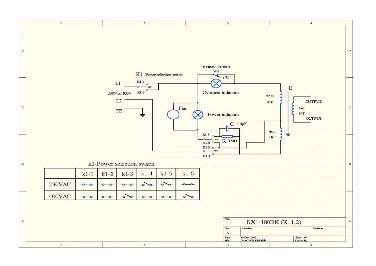 Схемы сварочных аппаратов 220-380 в