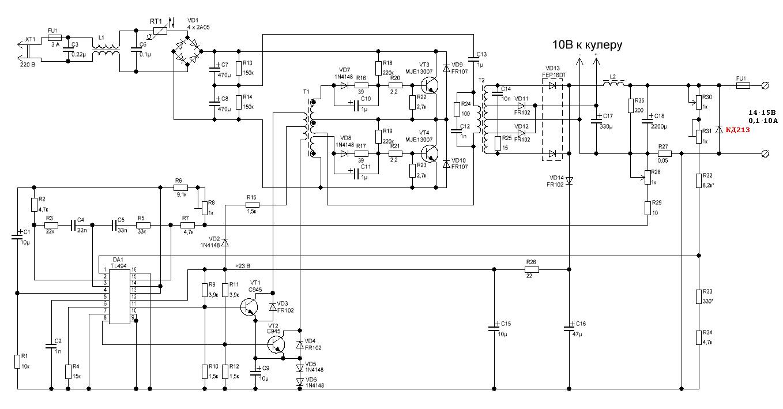 Ремонт импульсных зарядных устройств своими руками 66