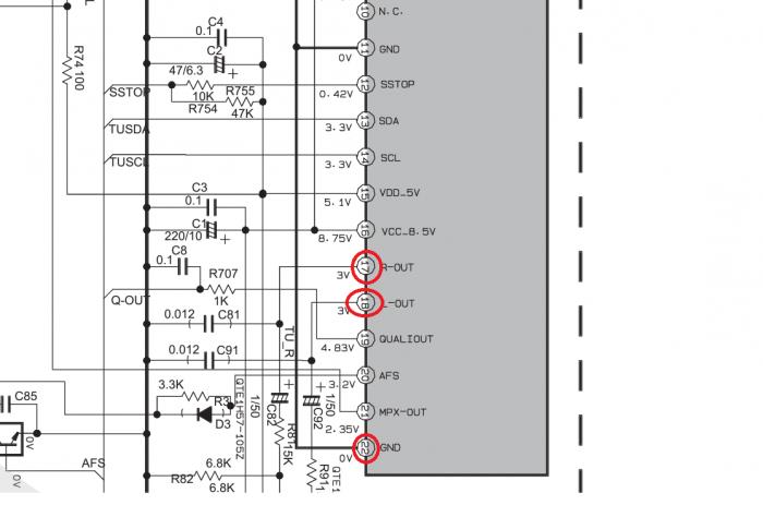 Схема магнитолы jvc kd g227