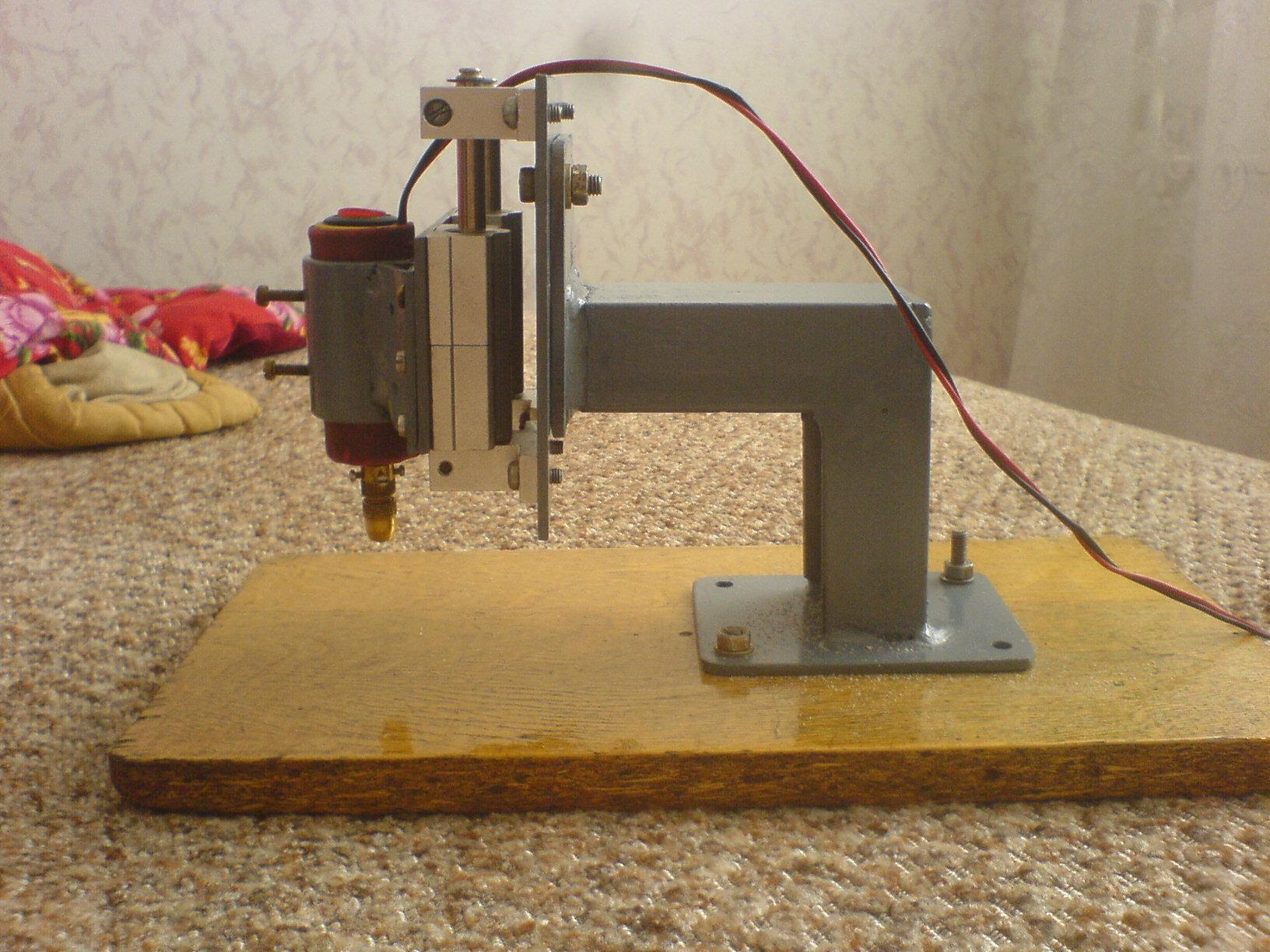 Простой станок для сверления печатных плат - В домашнюю 23
