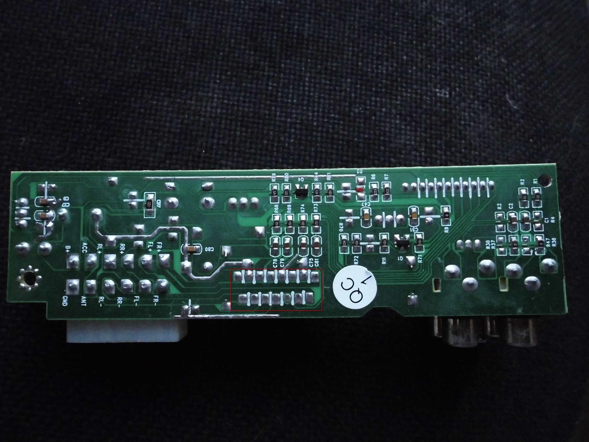 схема подключения магнитолы эриссон